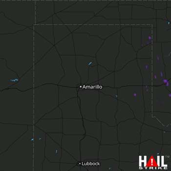 Hail Map Sayre, OK 09-02-2020