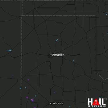Hail Map Sundown, TX 06-03-2021