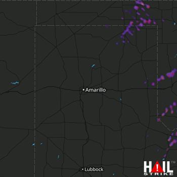 Hail Map Altus, OK 05-02-2018