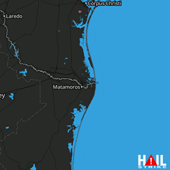 Hail Map Taft, TX 12-10-2020
