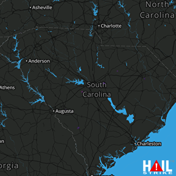 Hail Map COLUMBIA 08-05-2018