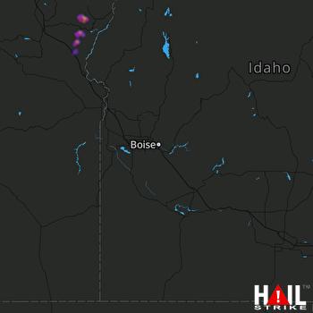 Hail Map BOISE 05-31-2020