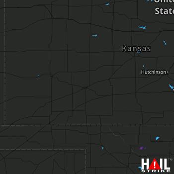 Hail Map DODGE CITY 03-27-2019