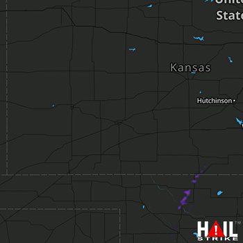 Hail Map Waynoka, OK 10-02-2019