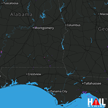 Hail Map Enterprise, AL 09-23-2017
