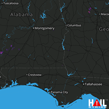 Hail Map Gordon, AL 05-20-2018