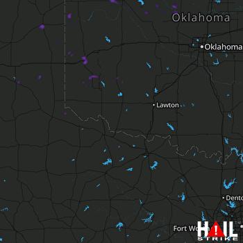 Hail Map Sayre, OK 09-02-2020