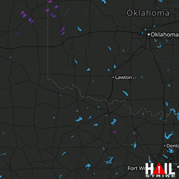 Hail Map Cheyenne, OK 05-06-2021