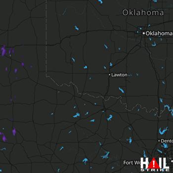 Hail Map Spur, TX 06-30-2018