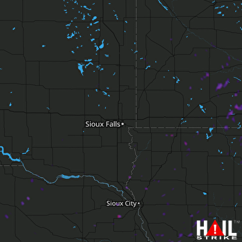 Hail Map Sibley, IA 09-20-2018