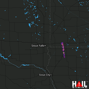 Hail Map Sheldon, IA 05-15-2019