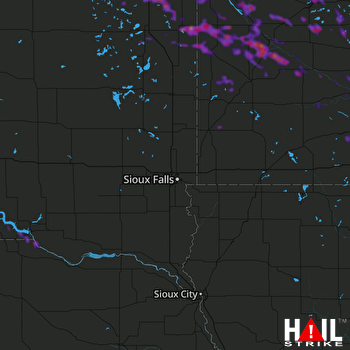 Hail Map Montevideo, MN 06-04-2019
