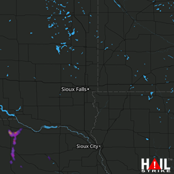 Hail Map Oneill, NE 08-12-2020