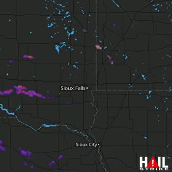 Hail Map Madison, NE 06-24-2021