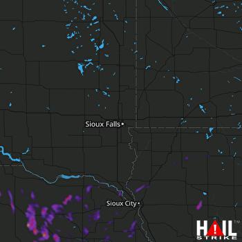 Hail Map Neligh, NE 07-14-2021