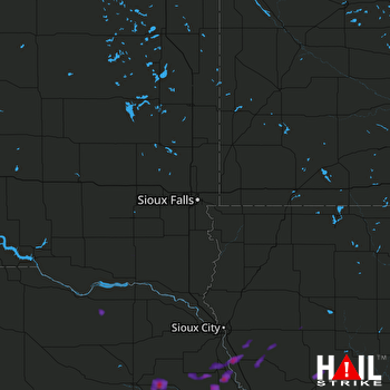 Hail Map Humphrey, NE 09-16-2017