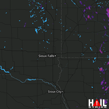 Hail Map Carroll, IA 06-11-2018