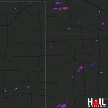 Hail Map Grant, NE 09-01-2018