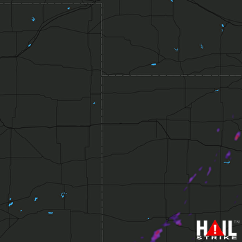 Hail Map Ulysses, KS 05-26-2019