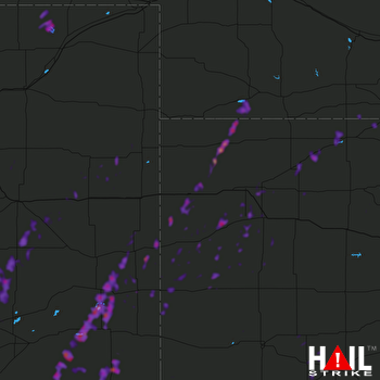 Hail Map Eads, CO 05-26-2019
