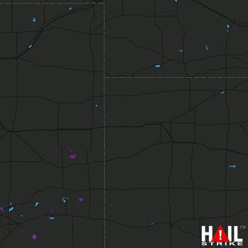 Hail Map GOODLAND 06-16-2019