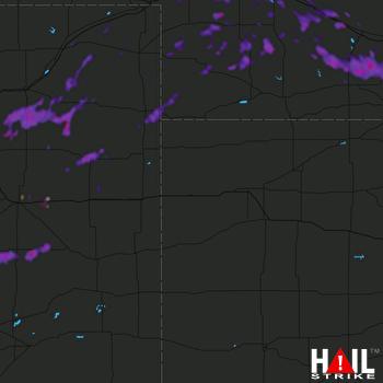 Hail Map Holdrege, NE 07-05-2019