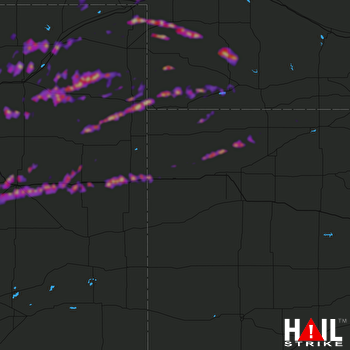Hail Map Sterling, CO 05-04-2020