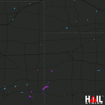 Hail Map Lamar, CO 06-07-2021