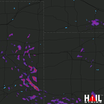 Hail Map Sublette, KS 07-26-2021