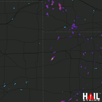 Hail Map Ulysses, KS 09-30-2021