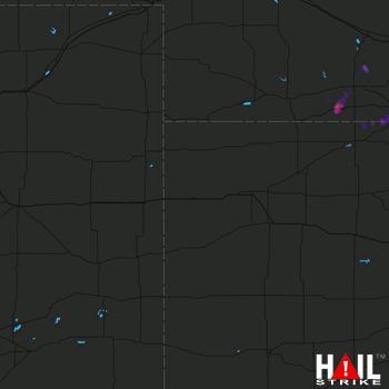 Hail Map Alma, NE 04-14-2017