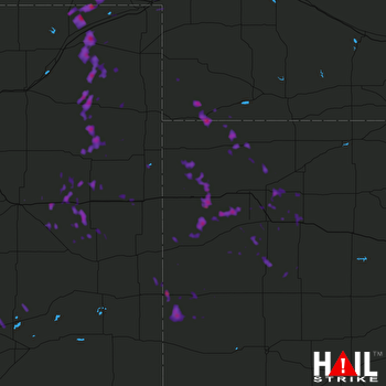 Hail Map Atwood, KS 07-04-2017