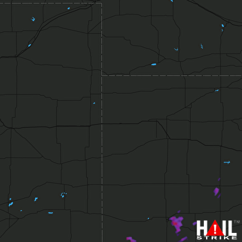 Hail Map GOODLAND 09-02-2017