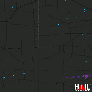 Hail Map GOODLAND 09-17-2017