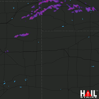Hail Map Lexington, NE 05-11-2018