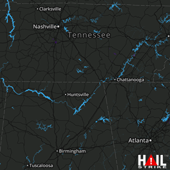 Hail Map Decatur, TN 06-28-2018