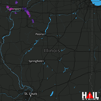 Hail Map Colona, IL 06-05-2020