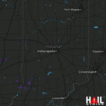 Hail Map Altamont, IL 06-16-2019