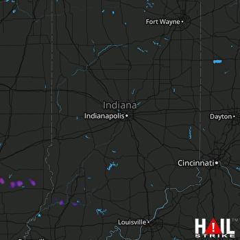 Hail Map Dundas, IL 03-27-2020
