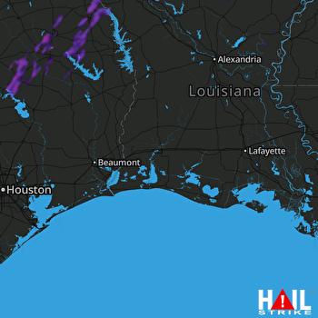 Hail Map Center, TX 06-07-2021