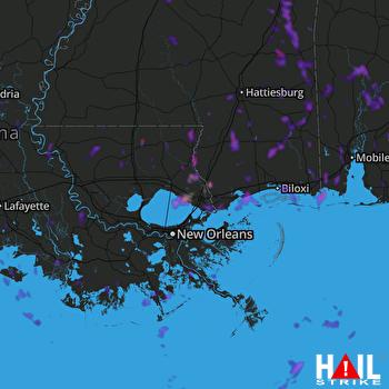 Hail Map Bogalusa, LA 06-14-2021