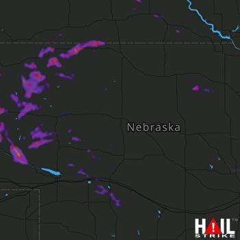 Hail Map Alliance, NE 06-14-2021