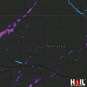 Hail Map Alliance, NE 05-16-2017