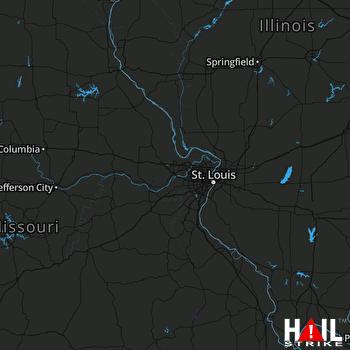 Hail Map ST LOUIS 06-30-2018