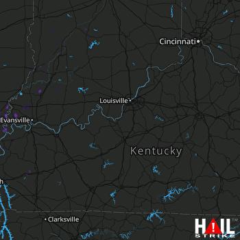 Hail Map Norris City, IL 05-02-2019