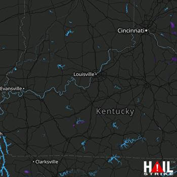 Hail Map Lynchburg, OH 06-20-2019