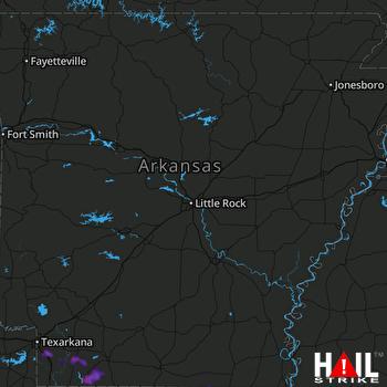 Hail Map Marion, LA 06-07-2019