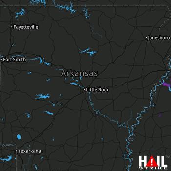 Hail Map Southaven, MS 06-04-2020
