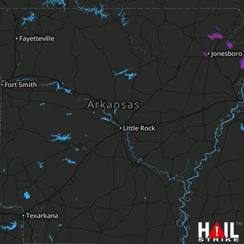 Hail Map Jonesboro, AR 05-19-2018