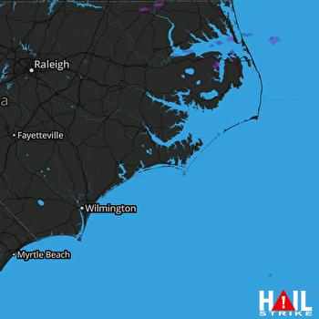 Hail Map Murfreesboro, NC 06-23-2018